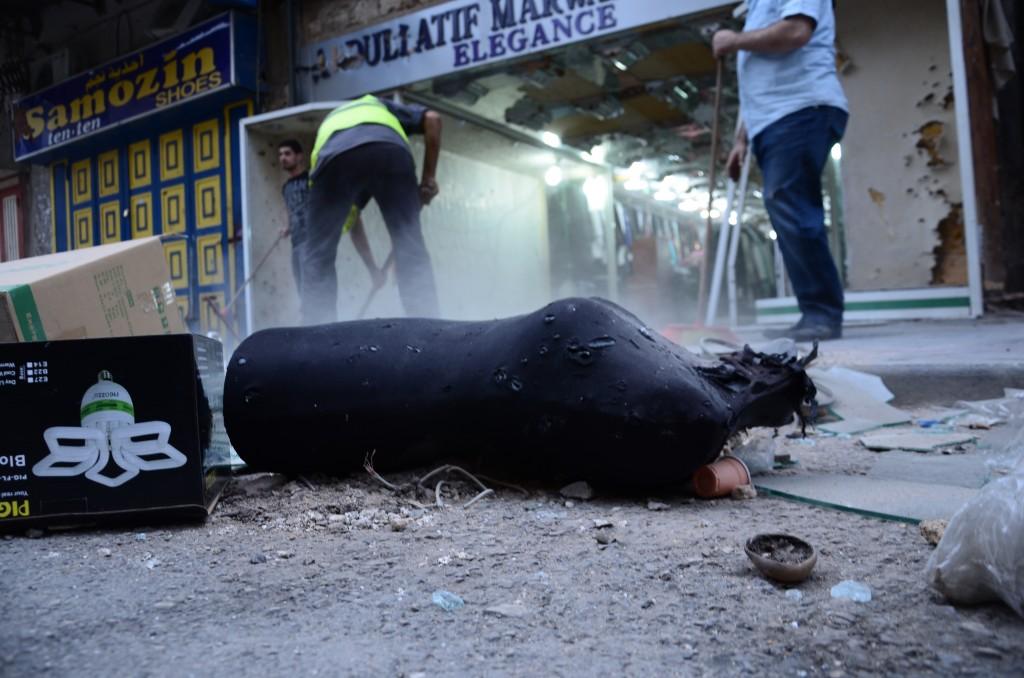 Poussière de vie dans le souk de Tripoli. Crédit photo: Emmanuel Haddad