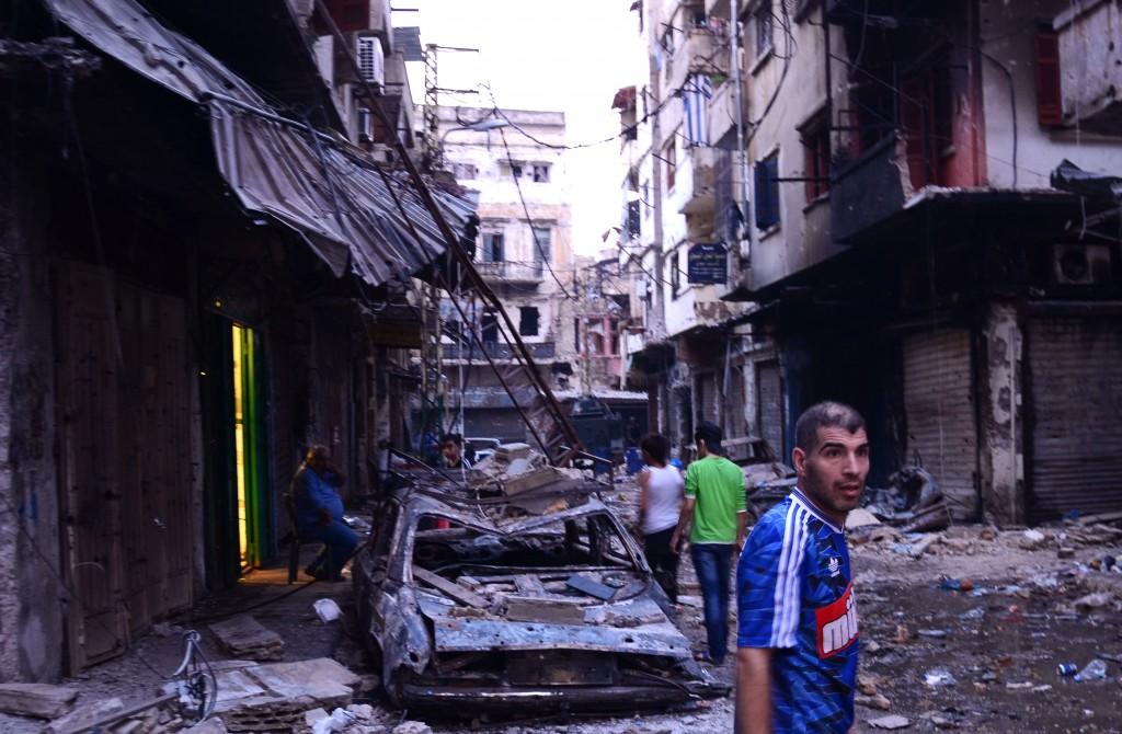 Mustafa, le jour d'après. crédit photo: Emmanuel Haddad