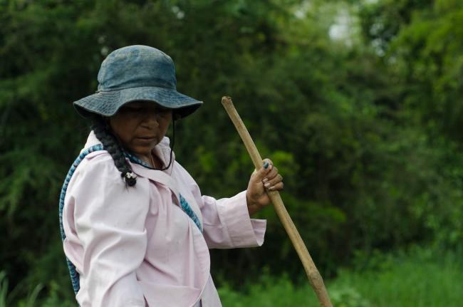 Novelina Mendez dans la ferme récupérée par les Nasa - Crédit: Emmanuel Haddad